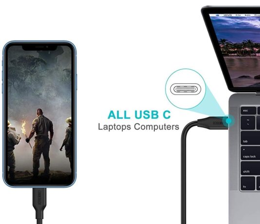 Choetech USB C To Lightning Cable