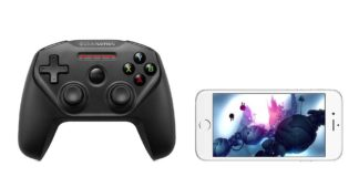 SteelSeries Nimbuss Gaming Controller The APple Byte