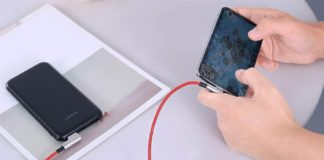 AUKEY Right Angle Lightning Cable