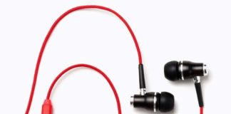 Symphonized NRG Premium Genuine Wood in-Ear Noise-Isolating Earbuds