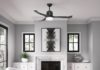 Hunter Indoor Wifi Ceiling Fan with LED Light and remote control