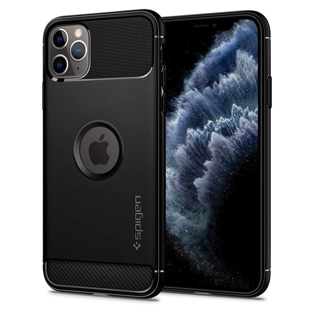 _Spigen Rugged Armor Designed for Apple iPhone 11 Pro Max Case-min