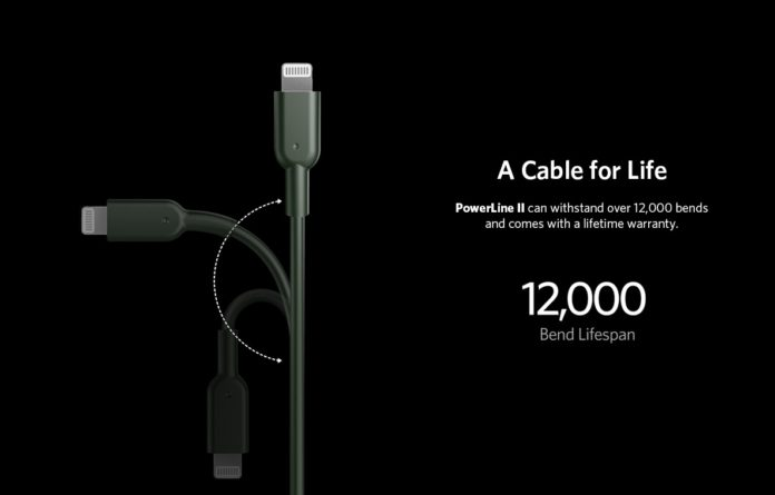 Anker Midnight Green USB C to Lightning Cable [6ft Apple MFi Certified] Powerline II for iPhone 11:11 Pro : 11 Pro Max:X:XR:XS Max,..