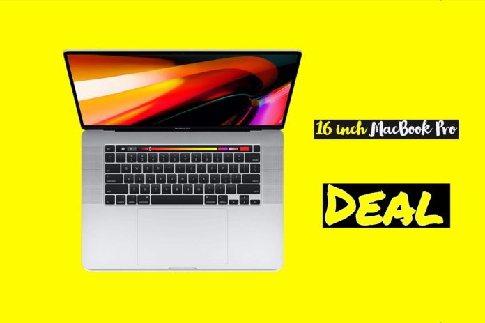 16 inch macbook pro deals
