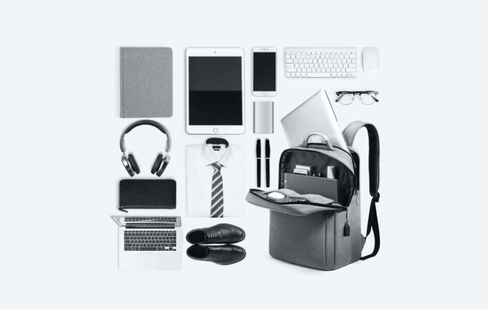 Business Travel Backpack with USB Charging Port -min