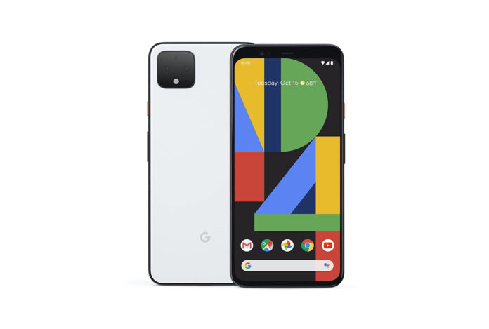 Google Pixel 4 XL - Clearly White - 64GB - Unlocked -min