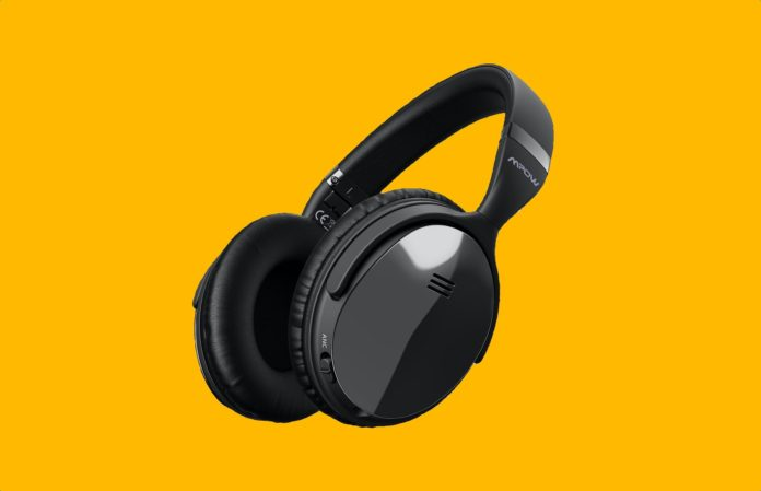 Mpow H5 [Upgrade] Active Noise Cancelling Headphones-min (3)