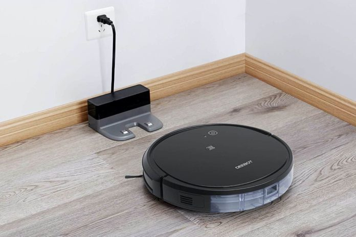 _ECOVACS DEEBOT 500 Robotic Vacuum Cleaner with Max Power Suction-min