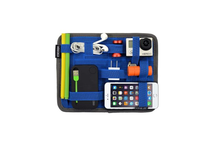 Cocoon CPG7BL GRID-IT! Accessory Organizer - Small 7.25 x 9.25 (Royal Blue)-min (1)