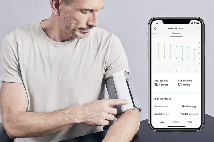Withings BPM Connect - Wi-Fi Smart Blood Pressure Monitor -min