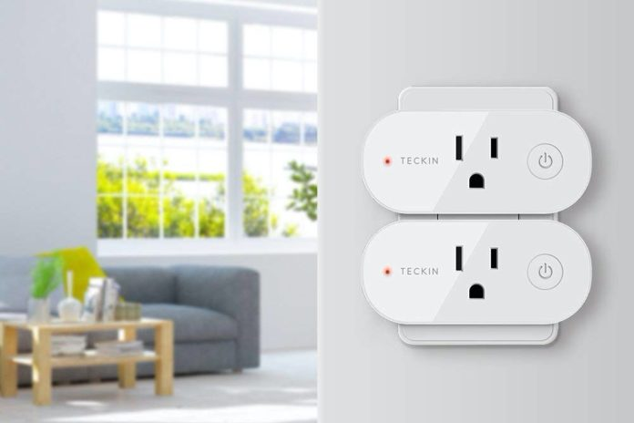 teckin Smart Plug Wifi Outlet 15A Compatible With Alexa