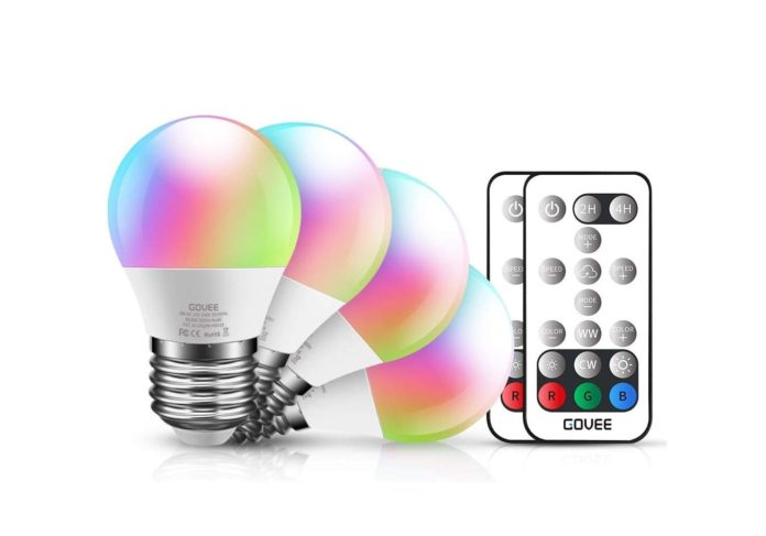 Govee Color Changing Light Bulb with Remote-min