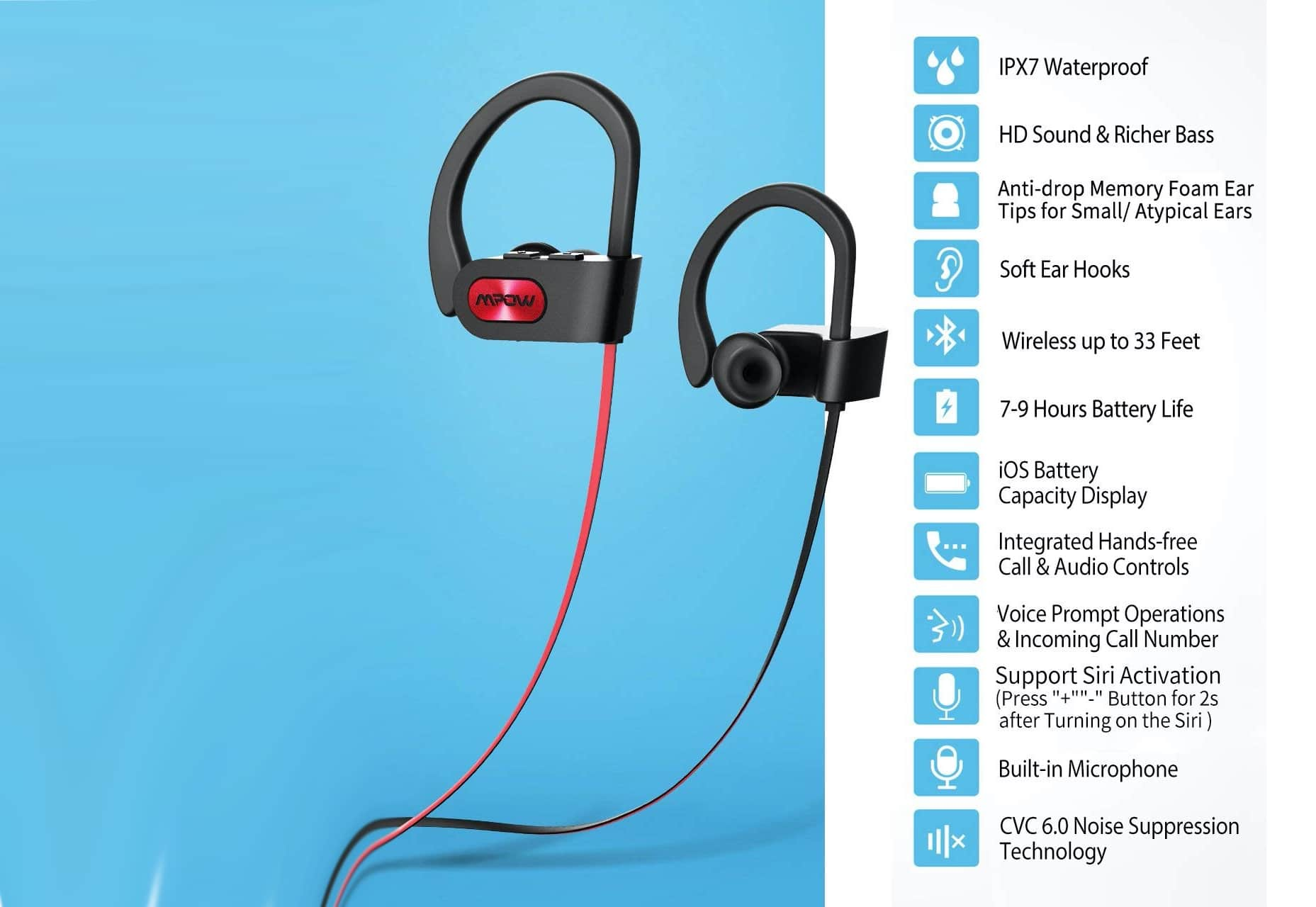 Mpow Flame Bluetooth Headphones-min