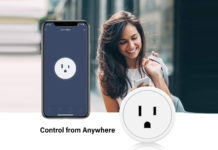 Aoycocr Mini WIFI Smart Socket -min