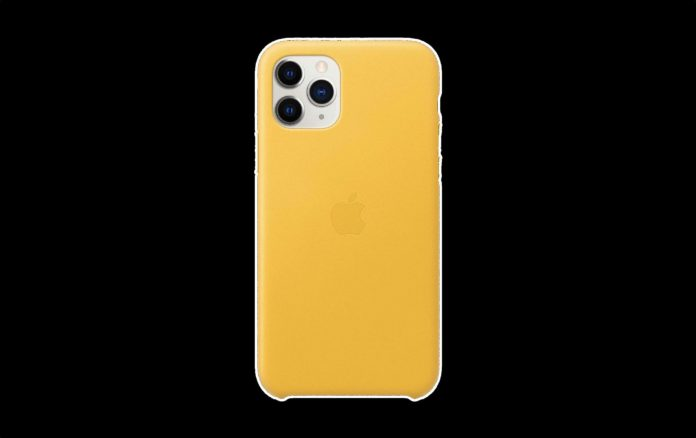 _Apple Leather Case (for iPhone 11 Pro-min
