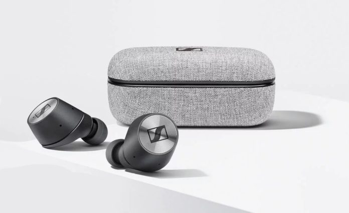 Sennheiser MOMENTUM True Wireless Bluetooth Earbuds-min