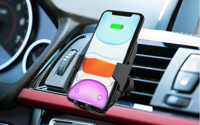 iClever Wireless Car Charger-min (1)
