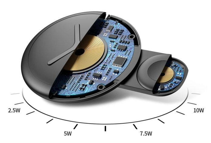 Nalwort 2 in 1 Wireless Charger-min