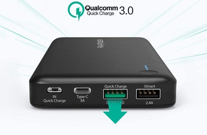 RAVPower 20100mAh Quick Charge Power Bank