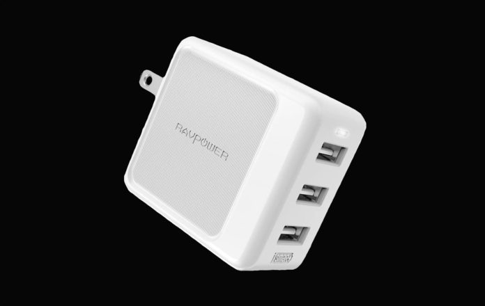 RAVPower Travel Charger Multi Port USB Charger Charging Station Adapter-min
