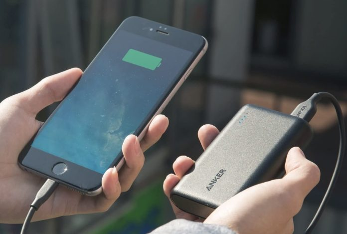 Anker PowerCore 10000 Portable Charger-min