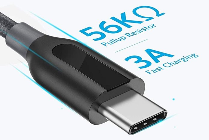 Anker Powerline+ USB C to USB A Fast Charging Cable-min