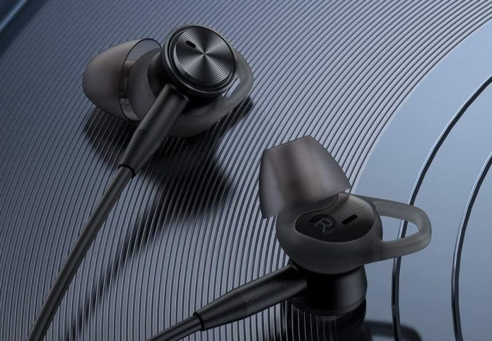 TaoTronics Active Noise Cancelling Headphones Wired Earbuds-min
