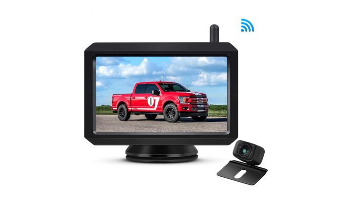 AUTO-VOX W7 Wireless Backup Camera Kit-min