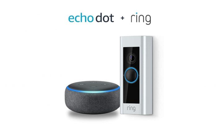 Ring Video Doorbell Pro with Echo Dot-min