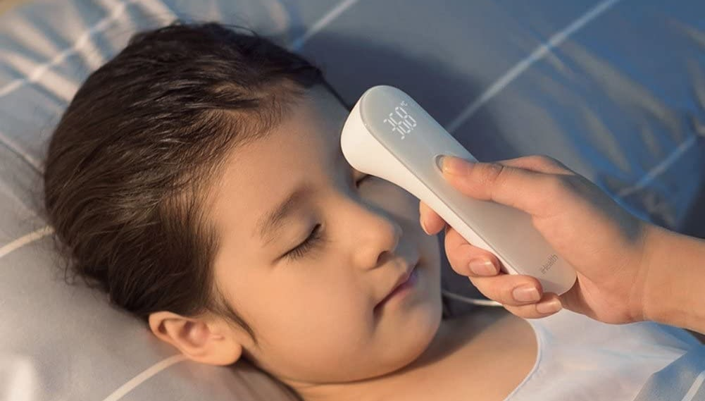 iHealth No-Touch Forehead Thermometer-min