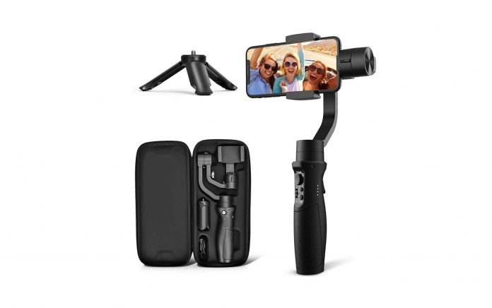 3-Axis Gimbal Stabilizer for iPhone 11-min