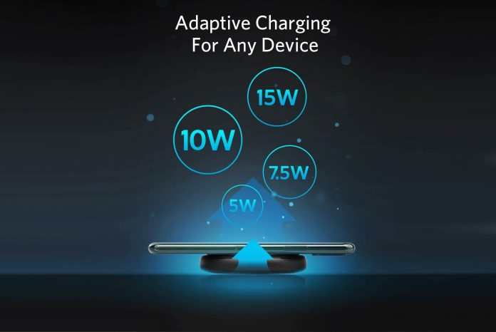 Anker Wireless Charger with Power Adapter-min