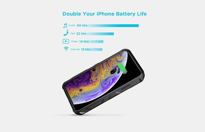 EasyAcc iPhone Xs:X Battery Charger Case