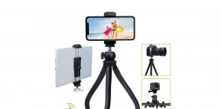 Endurax Flexible Tripod for Phone Camera Tripod Stand-min