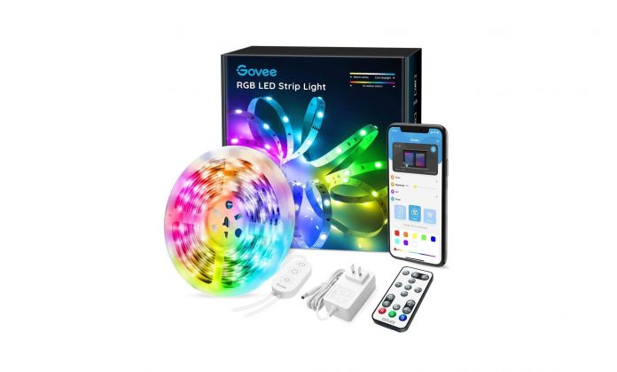 Govee 16.4FT LED Color Changing Lights with APP Control-min