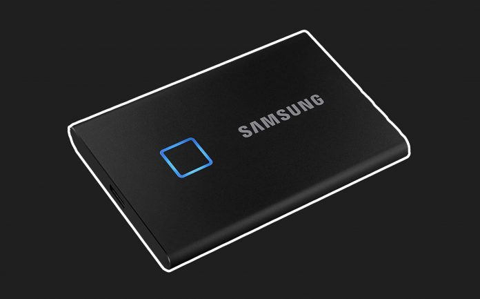 SAMSUNG T7 Touch Portable SSD 500GB-min
