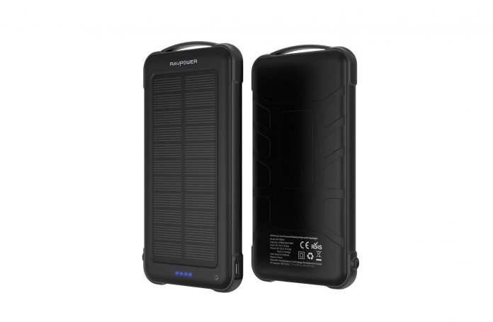 Solar Charger Power Bank 10000mAh-min