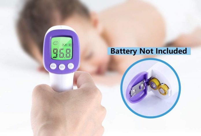 Non-Contact Infrared Thermometer-min
