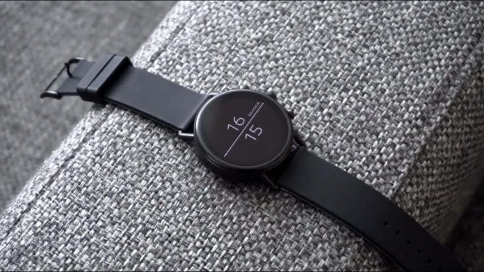 Skagen Connected Falster 2 Stainless Steel Touchscreen Smartwatch-min