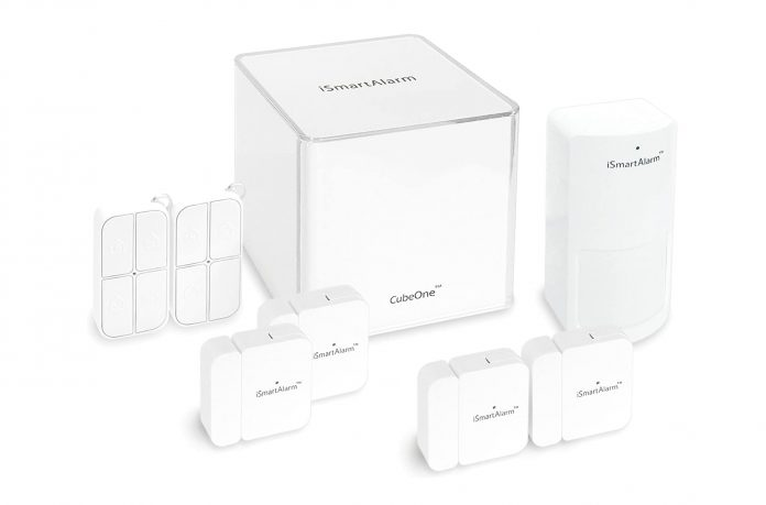 iSmartAlarm Deluxe Home Security Package-min
