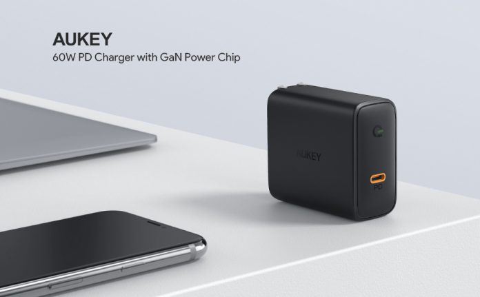 AUKEY Focus 60W PD 3.0 Charger-min