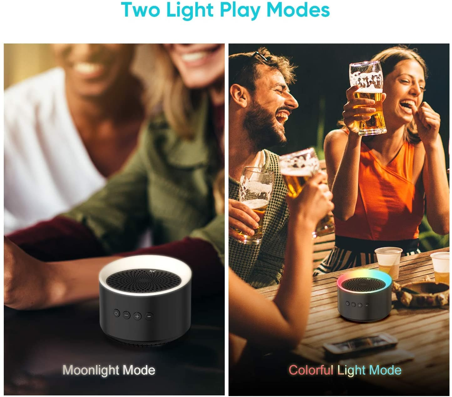 Bluetooth Speaker with Colorful Lights-min