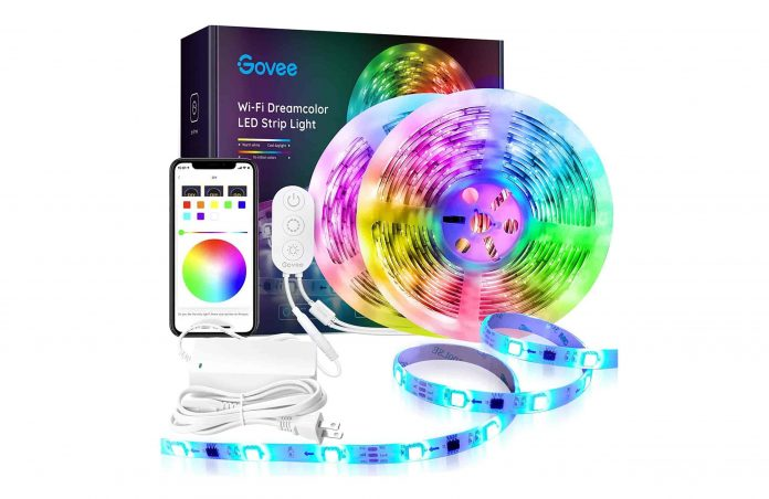 Dreamcolor 32.8FT LED Strip Lights RGBIC-min