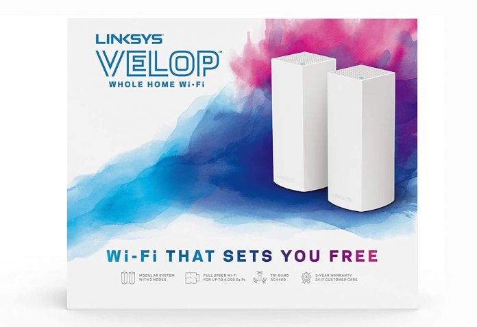 Linksys Velop Mesh Router-min