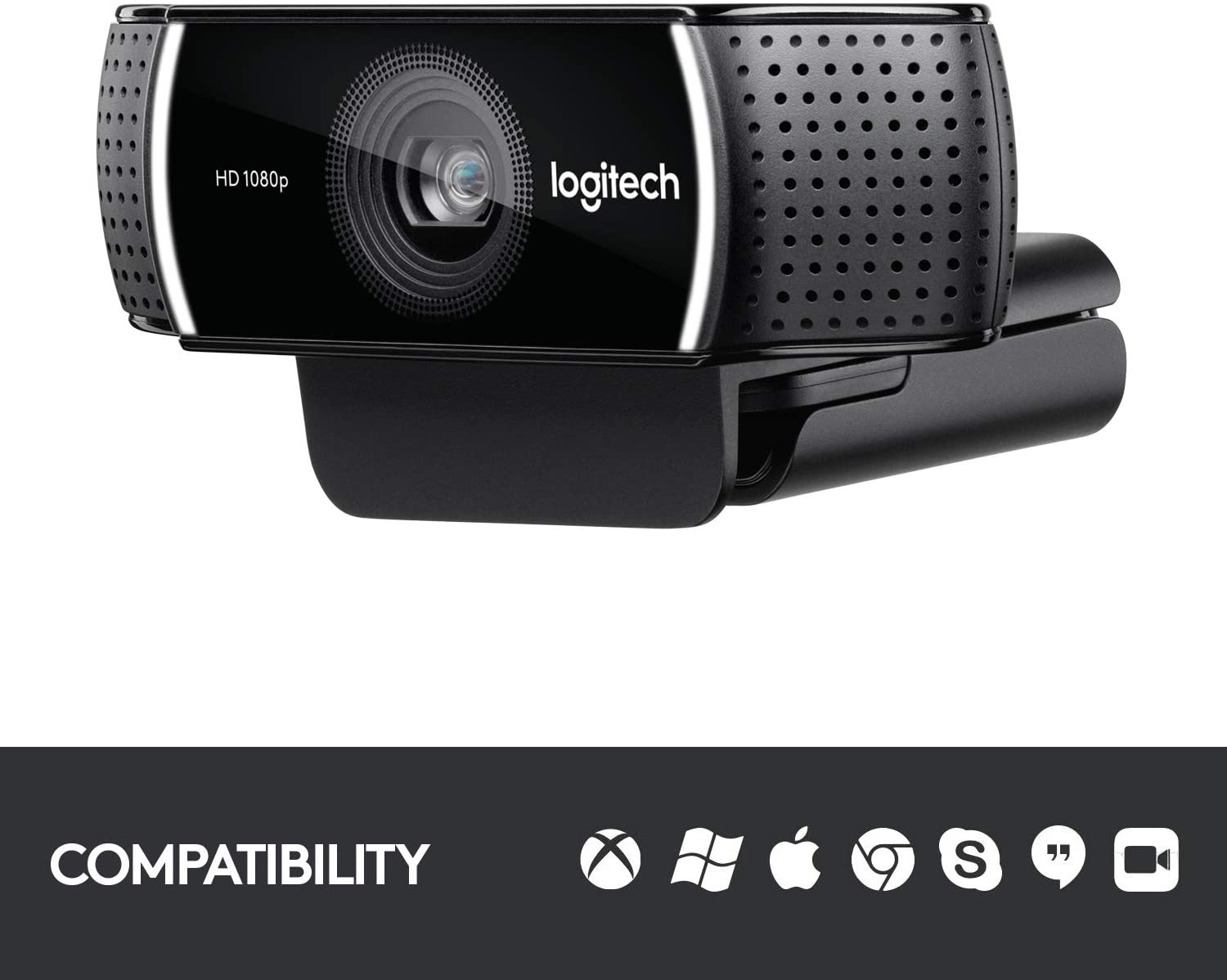 Logitech C922x Pro Stream Webcam – Full 1080p HD Camera-min