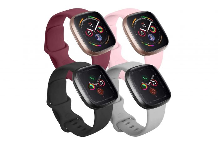 Tobfit 4 Pack Compatible with Apple Watch Band-min