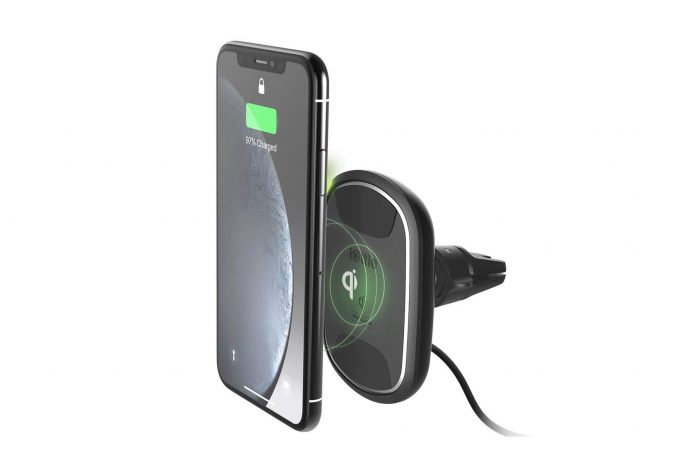 _iOttie iTap 2 Wireless Magnetic Qi Wireless Charging Air Vent Mount -min