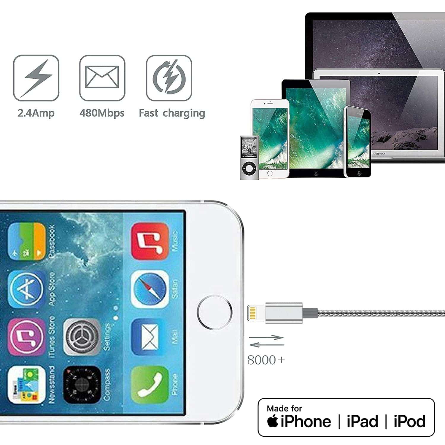 iPhone Lightning Cable-min