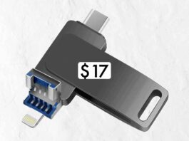 256GB Photo Stick for iPhone Flash Drive