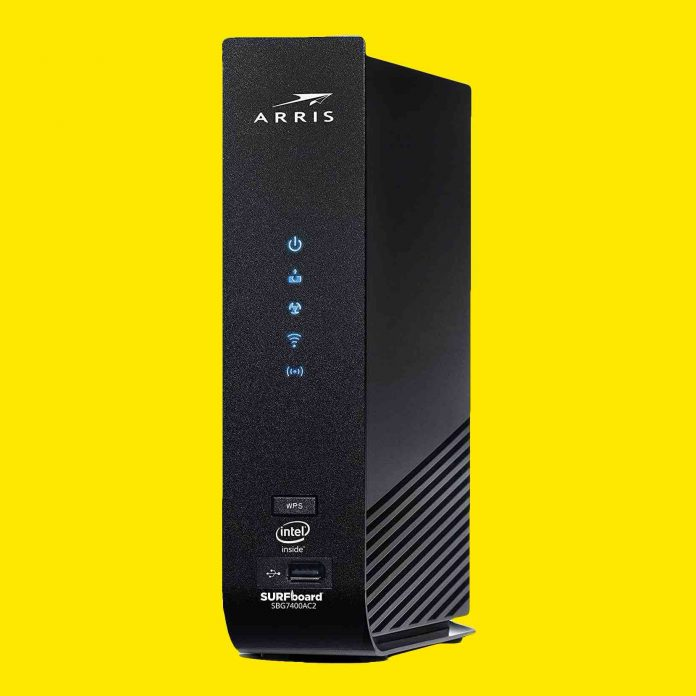 ARRIS SURFboard SBG7400AC2 DOCSIS 3.0 Cable Modem & AC2350 Dual-Band Wi-Fi Router-min